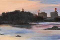 Sunrise on the North Platte River